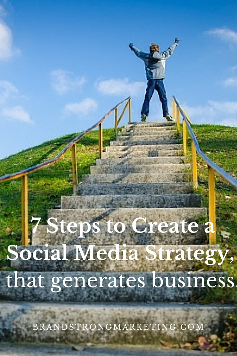 7 Steps to Generate a Social Media Strategy