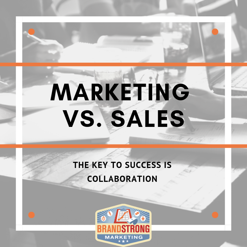 MARKETING VS. SALES